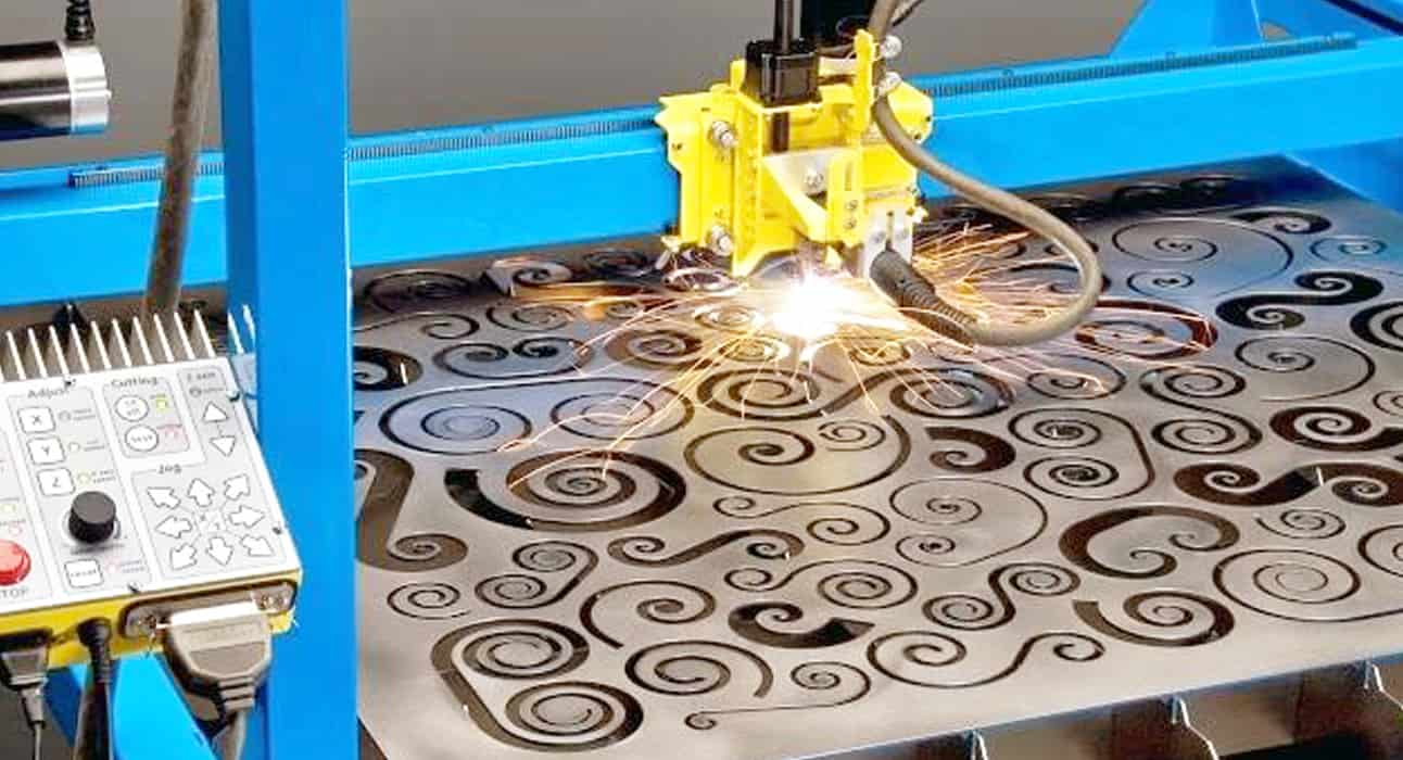 CNC Plasma Cutters PlasmaCam cutting nested objects